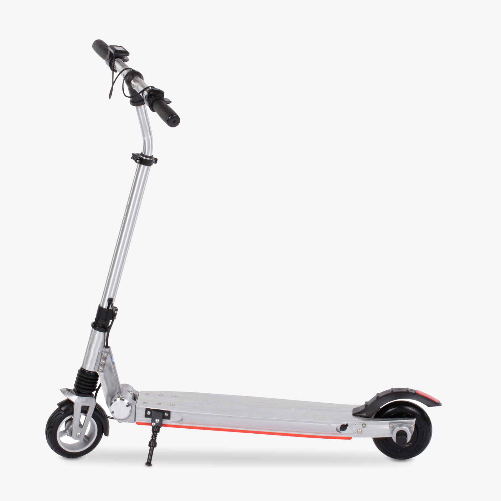 moovi-escooter-silber-seite-staender