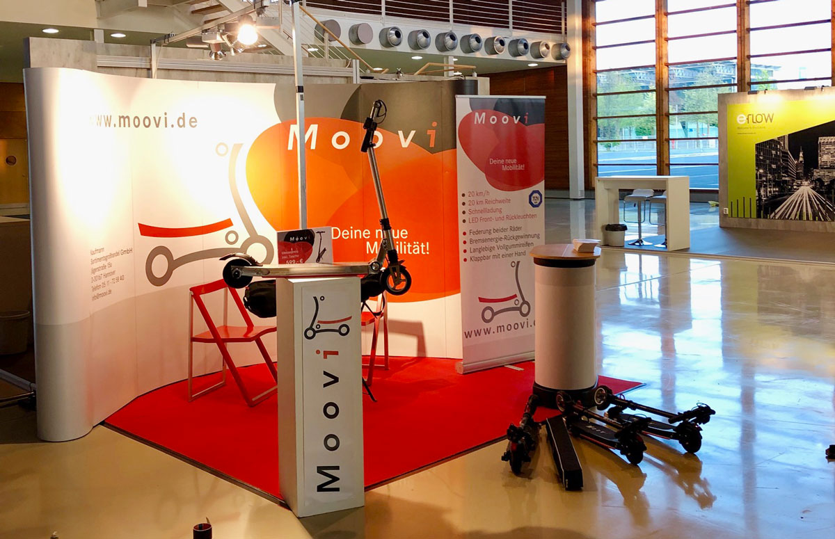 Moovi auf der Micromobility Expo in Hannover