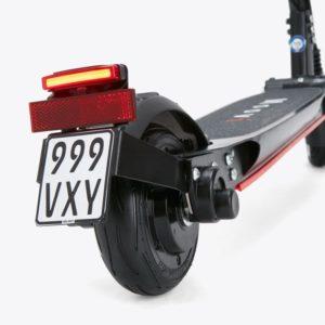 Unser Moovi mit Straßenzulassung