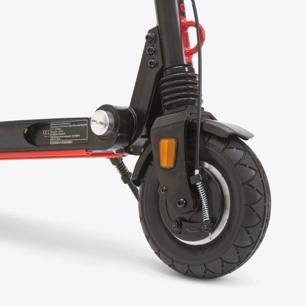 moovi escooter stvo pro strassenzulassung vorderad reflektor trommelbremse