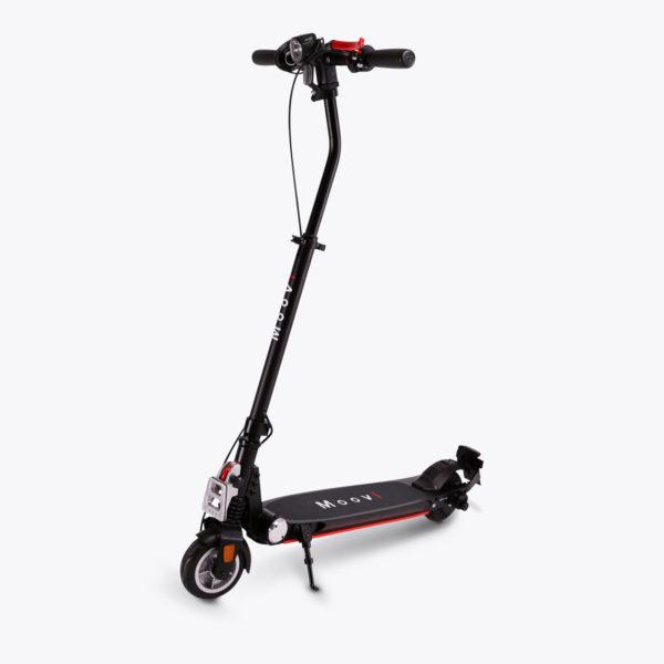E-Scooter mit angebautem Universalhalter