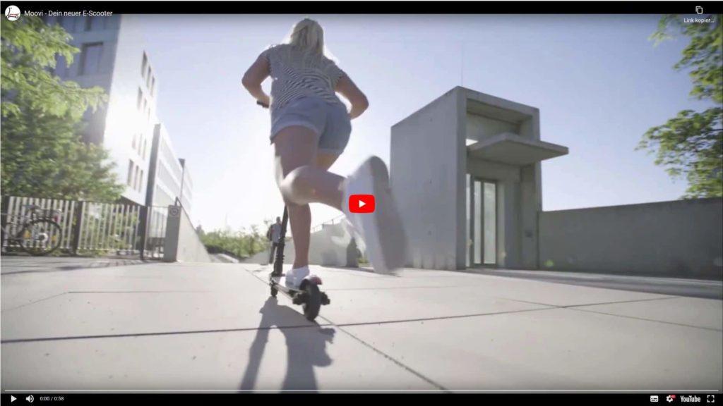 """Youtube Video """"Dein erster Scooter"""" mit Stassenzulassung"""