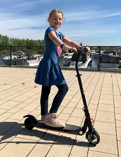 e-scooter fuer kinder